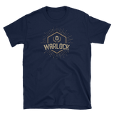 Warlock Character Class Emblem Unisex RPG Shirt - Dungeon Armory - Tabletop RPG Shirt Dungeons & Dragons T-Shirt Pathfinder RPG T-Shirt