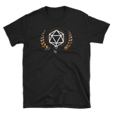 Vintage Polyhedral D20 Dice Unisex RPG Shirt - Dungeon Armory - Tabletop RPG Shirt Dungeons & Dragons T-Shirt Pathfinder RPG T-Shirt
