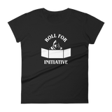 Roll for Initiative Dungeon Master Women's RPG Shirt - Dungeon Armory - Tabletop RPG Shirt Dungeons & Dragons T-Shirt Pathfinder RPG T-Shirt