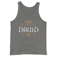 Druid Emblem Unisex RPG Tank Top - Dungeon Armory - Tabletop RPG Shirt Dungeons & Dragons T-Shirt Pathfinder RPG T-Shirt