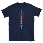 Rainbow Dice Sword Solid Colors Unisex RPG Shirt - Dungeon Armory - Tabletop RPG Shirt Dungeons & Dragons T-Shirt Pathfinder RPG T-Shirt