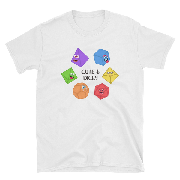 Cute and Dicey Unisex RPG Shirt - Dungeon Armory - Tabletop RPG Shirt Dungeons & Dragons T-Shirt Pathfinder RPG T-Shirt