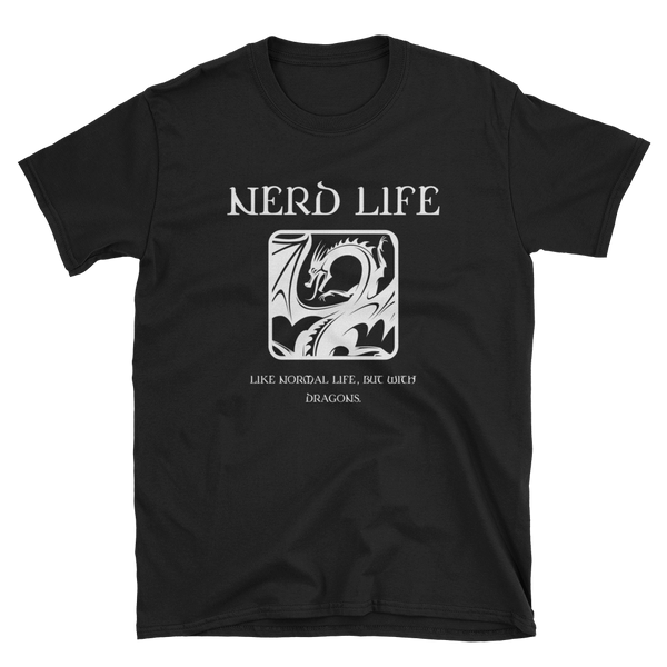 Nerd Life Meme Unisex RPG Shirt - Dungeon Armory - Tabletop RPG Shirt Dungeons & Dragons T-Shirt Pathfinder RPG T-Shirt