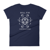 Roll for Attraction - Custom Listing for Ramona - Dungeon Armory - Tabletop RPG Shirt Dungeons & Dragons T-Shirt Pathfinder RPG T-Shirt