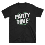 Party Time with D20 Dice Quotes Unisex RPG Shirt - Dungeon Armory - Tabletop RPG Shirt Dungeons & Dragons T-Shirt Pathfinder RPG T-Shirt