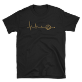 TRPG in my Heart D20 Dice Heartbeat Unisex RPG Shirt - Dungeon Armory