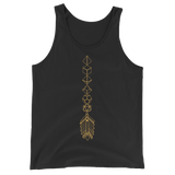 Bronze Dice Arrow Dice Collector Unisex RPG Tank Top - Dungeon Armory - Tabletop RPG Shirt Dungeons & Dragons T-Shirt Pathfinder RPG T-Shirt