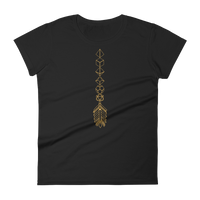 Bronze Dice Sword Dice Collector Women's RPG Shirt - Dungeon Armory - Tabletop RPG Shirt Dungeons & Dragons T-Shirt Pathfinder RPG T-Shirt