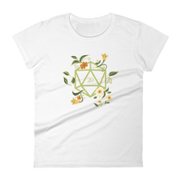 Dungeons and Dragons Shirt - Druid's D20 Dice Women's RPG Shirt - DnD Shirts Dungeon Armory