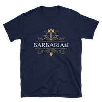 Dungeons and Dragons Shirt - Barbarian Emblem Unisex RPG Shirt - DnD Shirts Dungeon Armory