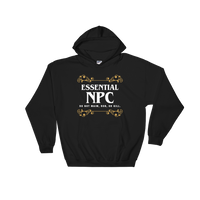 Essential NPC RPG Hoodie - Dungeon Armory - Tabletop RPG Shirt Dungeons & Dragons T-Shirt Pathfinder RPG T-Shirt