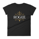 Rogue Emblem Women's RPG Shirt - Dungeon Armory - Tabletop RPG Shirt Dungeons & Dragons T-Shirt Pathfinder RPG T-Shirt