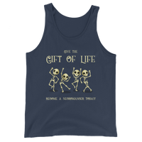 Give the Gift of Life Become a Necromancer Today Necromancy Unisex Tank Top - Dungeon Armory - Tabletop RPG Shirt Dungeons & Dragons T-Shirt Pathfinder RPG T-Shirt