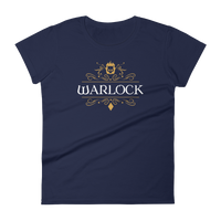 Dungeons and Dragons Shirt - Warlock Emblem Women's RPG Shirt - DnD Shirts Dungeon Armory