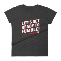Let's Get Ready to Fumble Women's RPG Shirt - Dungeon Armory - Tabletop RPG Shirt Dungeons & Dragons T-Shirt Pathfinder RPG T-Shirt