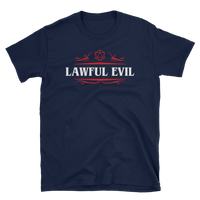 Lawful Evil Alignment Unisex RPG Shirt - Dungeon Armory - Tabletop RPG Shirt Dungeons & Dragons T-Shirt Pathfinder RPG T-Shirt