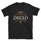 Dungeons and Dragons Shirt - Druid Emblem Unisex RPG T-Shirt - DnD Shirts Dungeon Armory