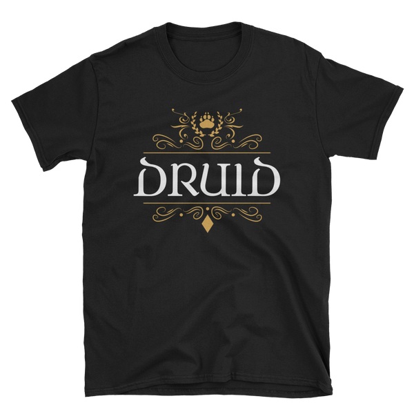 Druid Emblem Unisex RPG T-Shirt - Dungeon Armory