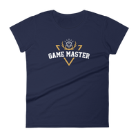 Vintage Game Master with D20 Dice Women's RPG Shirt - Dungeon Armory - Tabletop RPG Shirt Dungeons & Dragons T-Shirt Pathfinder RPG T-Shirt