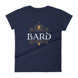 Bard Emblem Women's RPG Shirt - Dungeon Armory - Tabletop RPG Shirt Dungeons & Dragons T-Shirt Pathfinder RPG T-Shirt