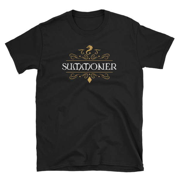 Summoner Character Class Unisex Pathfinder T-Shirt - Dungeon Armory - Tabletop RPG Shirt Dungeons & Dragons T-Shirt Pathfinder RPG T-Shirt