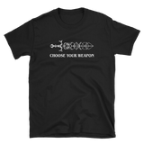 Choose Your Weapon Sword Dice RPG Shirt - Dungeon Armory - Tabletop RPG Shirt Dungeons & Dragons T-Shirt Pathfinder RPG T-Shirt
