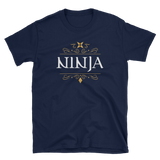 Ninja Character Class Unisex RPG Shirt - Dungeon Armory - Tabletop RPG Shirt Dungeons & Dragons T-Shirt Pathfinder RPG T-Shirt