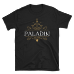 Paladin Emblem Unisex RPG Shirt - Dungeon Armory - Tabletop RPG Shirt Dungeons & Dragons T-Shirt Pathfinder RPG T-Shirt