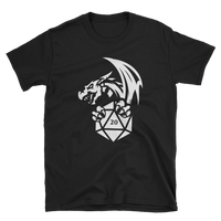 Dungeons and Dragons Shirt - Dragon with D20 Dice RPG Shirt - DnD Shirts Dungeon Armory