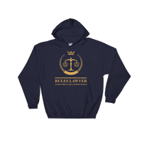Rules Lawyer - Trust Me, I Know Unisex RPG Hoodie - Dungeon Armory - Tabletop RPG Shirt Dungeons & Dragons T-Shirt Pathfinder RPG T-Shirt