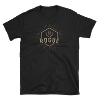Rogue Character Class Emblem Unisex RPG Shirt - Dungeon Armory - Tabletop RPG Shirt Dungeons & Dragons T-Shirt Pathfinder RPG T-Shirt