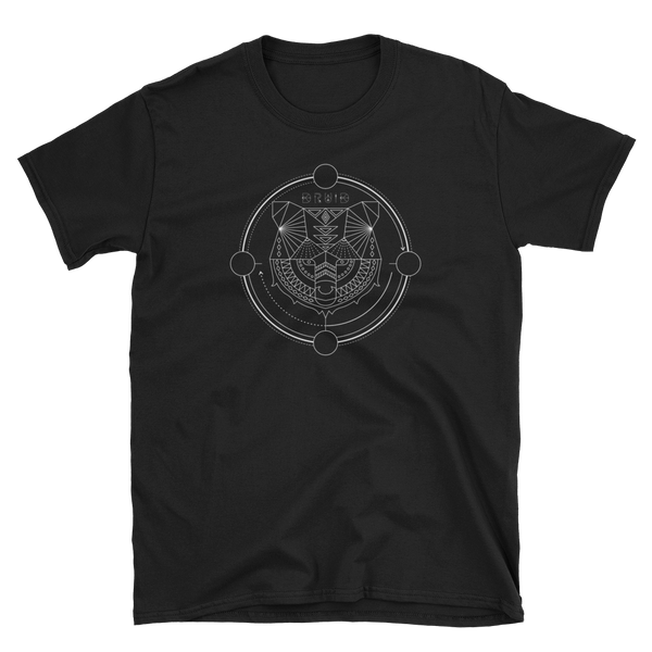Druid Bear Form Minimalist Lines RPG Shirt - Dungeon Armory - Tabletop RPG Shirt Dungeons & Dragons T-Shirt Pathfinder RPG T-Shirt
