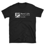 Nerd Life Quotes Unisex RPG Shirt - Dungeon Armory - Tabletop RPG Shirt Dungeons & Dragons T-Shirt Pathfinder RPG T-Shirt