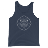 Druid Bear Form Minimalist Lines Unisex RPG Tank Top - Dungeon Armory - Tabletop RPG Shirt Dungeons & Dragons T-Shirt Pathfinder RPG T-Shirt