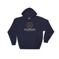 Dungeons and Dragons Shirt - Fighters Emblem Hooded Sweatshirt - DnD Shirts Dungeon Armory