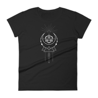 Dungeons and Dragons Shirt - D20 Dice with Sacred Symbols Women's RPG Shirt - DnD Shirts Dungeon Armory