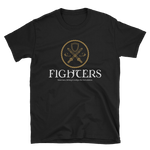 Fighters Emblem Unisex RPG Shirt - Dungeon Armory - Tabletop RPG Shirt Dungeons & Dragons T-Shirt Pathfinder RPG T-Shirt
