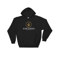 Sorcerers Emblem Hooded Sweatshirt - Dungeon Armory - Tabletop RPG Shirt Dungeons & Dragons T-Shirt Pathfinder RPG T-Shirt
