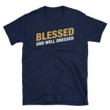 Clerics Blessed and Well Dressed Unisex RPG Shirt - Dungeon Armory - Tabletop RPG Shirt Dungeons & Dragons T-Shirt Pathfinder RPG T-Shirt