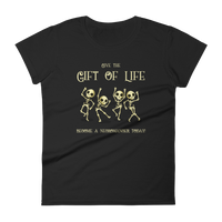 Dungeons and Dragons Shirt - Give the Gift of Life Become a Necromancer Today Necromancy Women's RPG Shirt - DnD Shirts Dungeon Armory