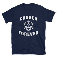 Cursed Forever D20 Dice Unisex T-Shirt - Dungeon Armory