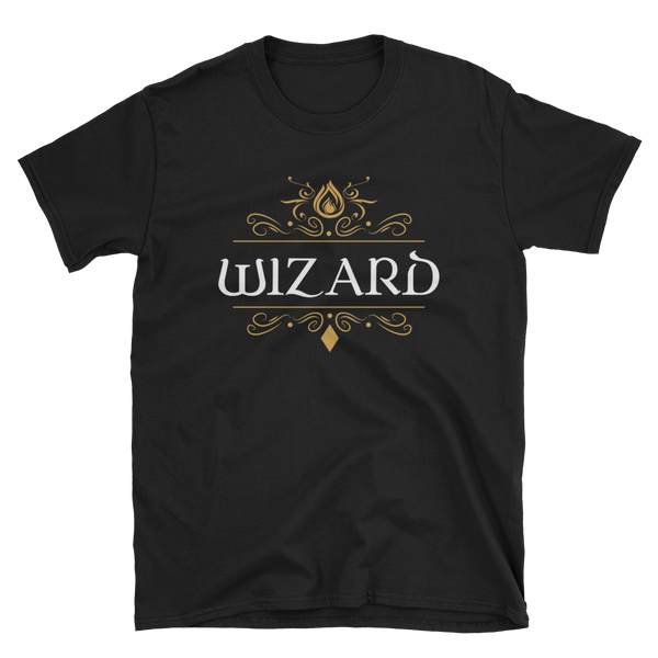 Wizard Unisex RPG Shirt - Dungeon Armory - Tabletop RPG Shirt Dungeons & Dragons T-Shirt Pathfinder RPG T-Shirt