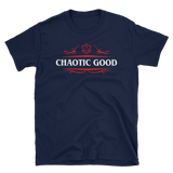 Chaotic Good Alignment Unisex T-Shirt - Dungeon Armory - Tabletop RPG Shirt Dungeons & Dragons T-Shirt Pathfinder RPG T-Shirt