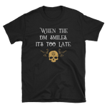 When the DM Smiles It's Too Late Dungeon Master Unisex RPG Shirt - Dungeon Armory - Tabletop RPG Shirt Dungeons & Dragons T-Shirt Pathfinder RPG T-Shirt