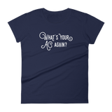 What's Your AC Again? DM Lines Series Women's RPG Shirt - Dungeon Armory - Tabletop RPG Shirt Dungeons & Dragons T-Shirt Pathfinder RPG T-Shirt
