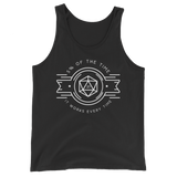 5 % of the Time it Works Every Time Unisex RPG Tank Top - Dungeon Armory - Tabletop RPG Shirt Dungeons & Dragons T-Shirt Pathfinder RPG T-Shirt