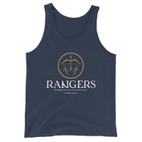 Rangers Emblem Unisex RPG Tank Top - Dungeon Armory - Tabletop RPG Shirt Dungeons & Dragons T-Shirt Pathfinder RPG T-Shirt