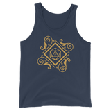 Vintage Polyhedral D20 Dice Unisex RPG Tank Top - Dungeon Armory - Tabletop RPG Shirt Dungeons & Dragons T-Shirt Pathfinder RPG T-Shirt