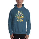 Polyhedral D20 Dice of The Druid Unisex RPG Hoodie - Dungeon Armory - Tabletop RPG Shirt Dungeons & Dragons T-Shirt Pathfinder RPG T-Shirt