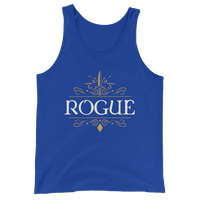 Rogue Unisex RPG Tank Top - Dungeon Armory - Tabletop RPG Shirt Dungeons & Dragons T-Shirt Pathfinder RPG T-Shirt